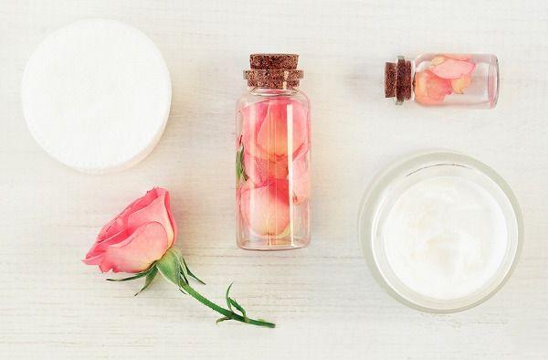 花とボトル