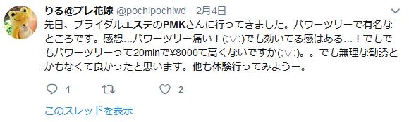 PMK口コミ_Twitter